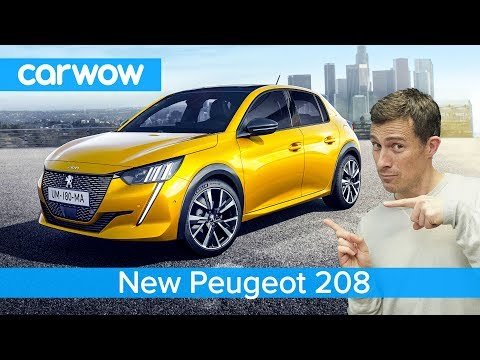 New Peugeot 208 hatch 2020 see why it's WAY cooler than a VW Polo or Ford Fiesta