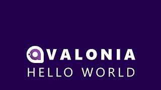 A Cross Platform .NET UI Framework - Hello World in Avalonia UI
