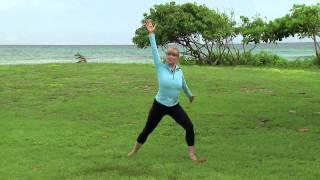 Workout with Miranda Esmonde-White, AGING BACKWARDS author
