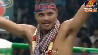 Khmer Boxing, ឡៅ ចន្រ្ទា ប៉ះ កាំឡៃផេត | Lao Chantrea VS Khamlaipetch(Thai), Kun Khmer Boxing,  SeaTV