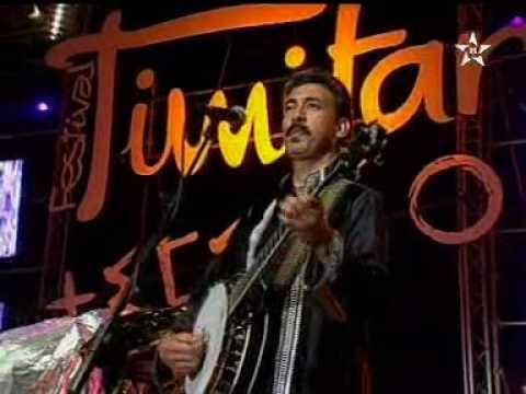 الفنان حميد إنرزاف بمهرجان تيمتار أغنية أمْداكْلينو