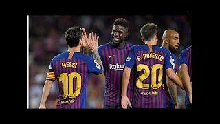 Primera Division, 2. Spieltag: Real Valladolid gegen FC Barcelona im TV und Livestream