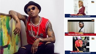 Wizkid Fears For His Health As He Is Nominated For Grammy Awards-Accelerate News