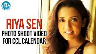 Riya Sen Photo Shoot For CCL Calendar | Bengal Tigers - Brand Ambassador