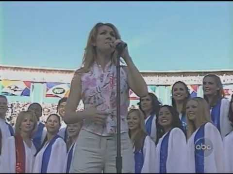 Download Céline Dion - God Bless America ( Superbowl )