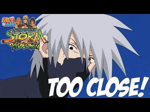 DAMN SON! Now Thats a CLOSE ONE!! Naruto Storm Revolution