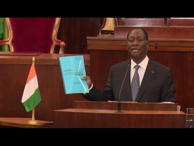 """PR Ouattara: """"pour une Côte d'Ivoire nouvelle"""""""