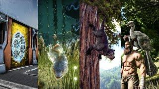 Patch 255: Electrophorus, Microraptor, Ammonite, Thylacoleo, & Tek Structures!