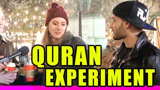 Holy Quran Experiment in New York City