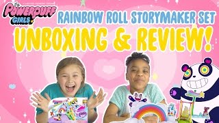 TOY TUESDAYS | Unboxing & Review: RAINBOW ROLL STORYMAKER PLAY SET! | Powerpuff Girls
