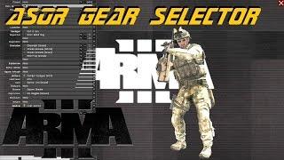 ARMA 3 Editor - ASOR Gear Selector script