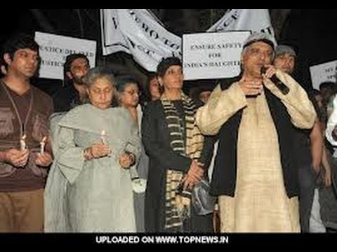 Xxx Mp4 Javed Akhtar Joins SILENT Protest For Delhi Gangrape 3gp Sex