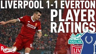 Lovren Gets A 5! | Liverpool v Everton 1-1 | Chris' Player Ratings