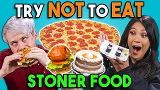 Stoners Try Not To Eat Challenge #2   People Vs. Food
