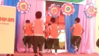 Pranjal annual day Jai ho  bachpan school dance