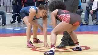 Teshya Alo (TMWC)  vs Maya Nelson (Sunkist) 4K (highlights) 2015 U.S. Olympic Qualifier Tournament