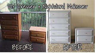 DIY Dresser and Nightstand Makeover | LoveStessie
