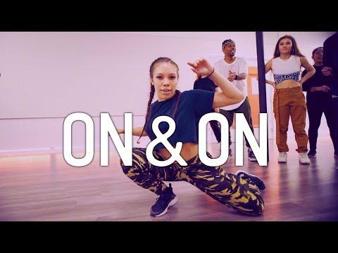 DJ Megan Ryte - On & On   Antoine Troupe Choreography   DanceOn Class