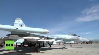 Syria: Sukhoi Su-35S jet joins Russian air-fleet at Hmeymim Airbase
