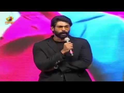 Xxx Mp4 Rana Daggubati Sai Kumar Back To Back Dialogues Rough Audio Launch Aadi Rakul Preet 3gp Sex
