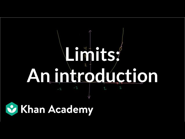 Introduction to limits   Limits   Differential Calculus   Khan Academy