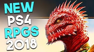 8 BIG Upcoming PS4 RPGs for the Rest of 2018 ALL GAMEPLAY (PRE E3 2018) PlayStation 4 RPG Games 2018