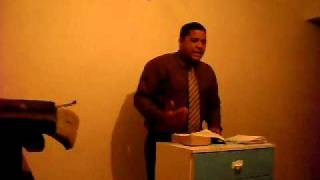 pregaçao do ev paulo da igreja evangelica missionaria nova unçao