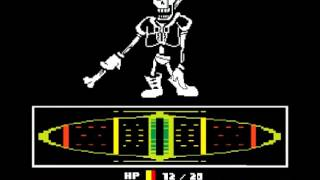 Papyrus Final Battle thing
