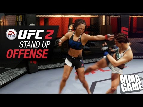 EA SPORTS UFC 2 - QUICK TIPS - STAND UP OFFENSE - HOW TO TUTORIAL