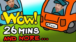 The Wheels On The Bus + More | Children´s Music Collection | 26 Minutes Compilation Steve and Maggie