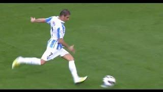 Gol de Joaquín (1-0) en el Málaga CF - Real Betis Jornada 6