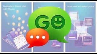 Go sms premium apk gratis desbloqueada