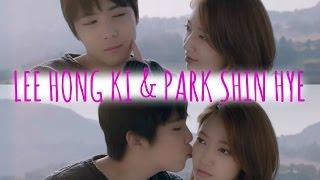Lee Hong Gi & Park Shin Hye ♥ Cute moments 2015 (Insensible MV Making)