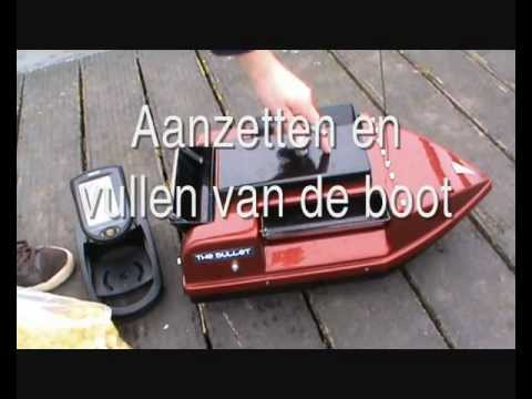 informatie film voerboot baitboat the bullet buiten outside.wmv