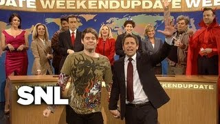 Weekend Update: Stefon's Farewell - Saturday Night Live