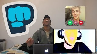 JAKE PAUL IN THE TITLE By PEWDIEPIE REACTION!