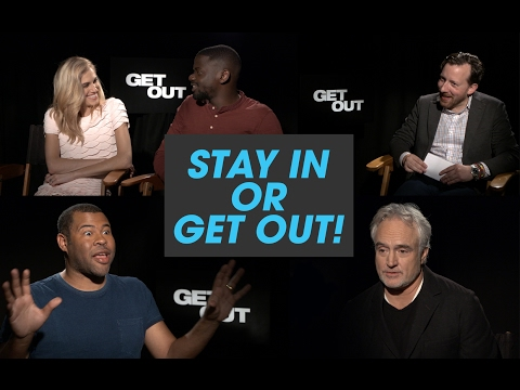 The Get Out Cast Plays Stay in or Get Out