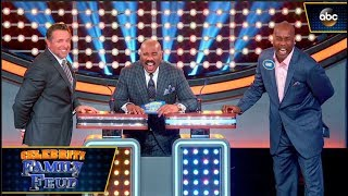 Name a Word That Rhymes With Yummy - Celebrity Family Feud