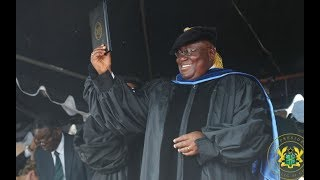 Akufo-Addo receives Honorary Doctorate Degree from University of Liberia