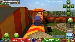 Obstacle Course Car Parking / Car Parking Skills Games / Android Gameplay Video #2