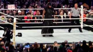 Wrestlemania 29 The Undertaker Entrance (Live)