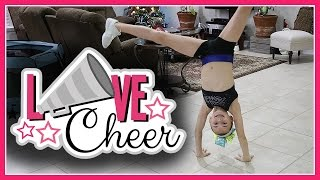 KAYLA GIVES CHEER POINTERS | We Are The Davises