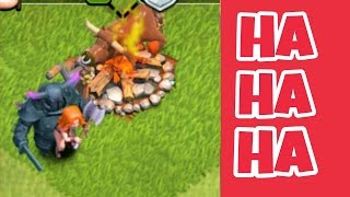 Clash of Clans Funny Moments Compilation - Try Not To Laugh