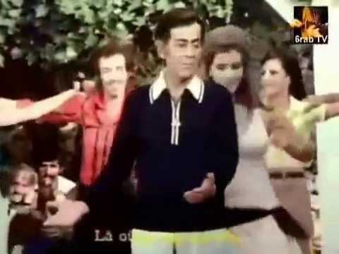 رقص مرفت امين على انغام الموسيقار فريد الاطرش