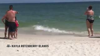 Sharks swim too close for comfort in Gulf Shores