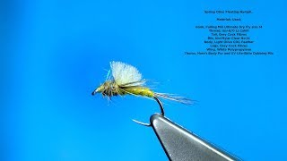 Tying a Spring Olive (Floating Nymph) by Davie McPhail