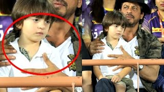 Shahrukh Khan And AbRam Spotted With Same Tattoo At IPL 2017