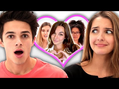 I let my sister pick my girlfriend Date Takeover w Brent and Lexi Rivera