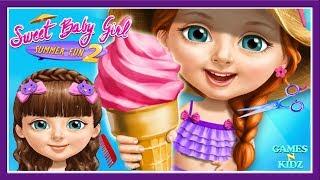 Fun Baby Girl Care - Girls Play Hair Salon, Dress Up, Makeover - Sweet Baby Girl Summer Fun 2