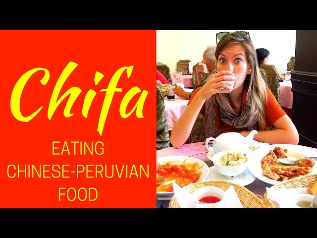 Chifa: Eating Peruvian Chinese food in Lima, Peru